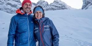 Berge im TV: Gerlinde Kaltenbrunner und Großglockner