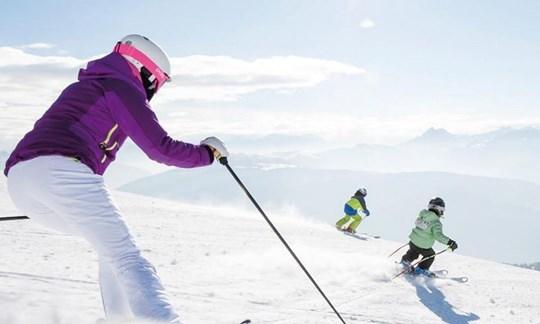 Die RegionGitschberg Jochtal verspricht Skispaß für die ganze Familie.