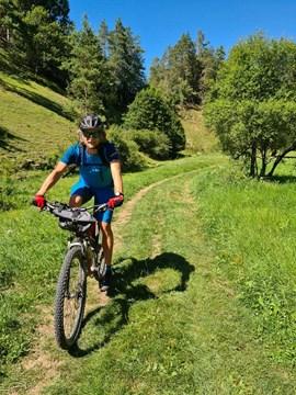 Breit genug zum Mountainbiken?