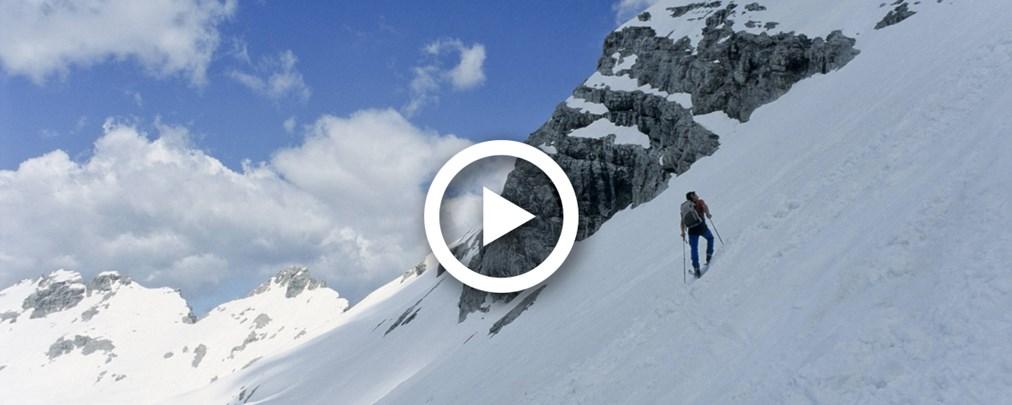 Video: Auf Ski quer durch das Karwendel