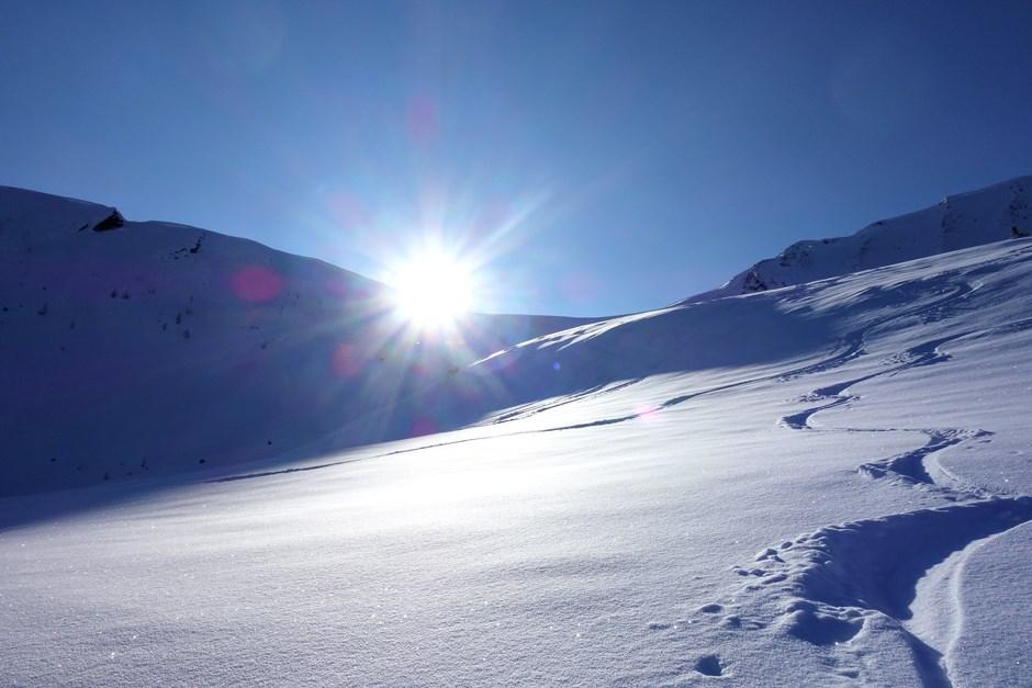 Aus den Kälteloch der Sonne entgegen