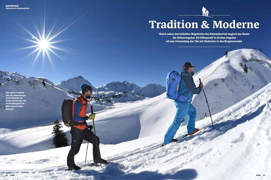 Reportage: Skisafari im Kleinwalsertal