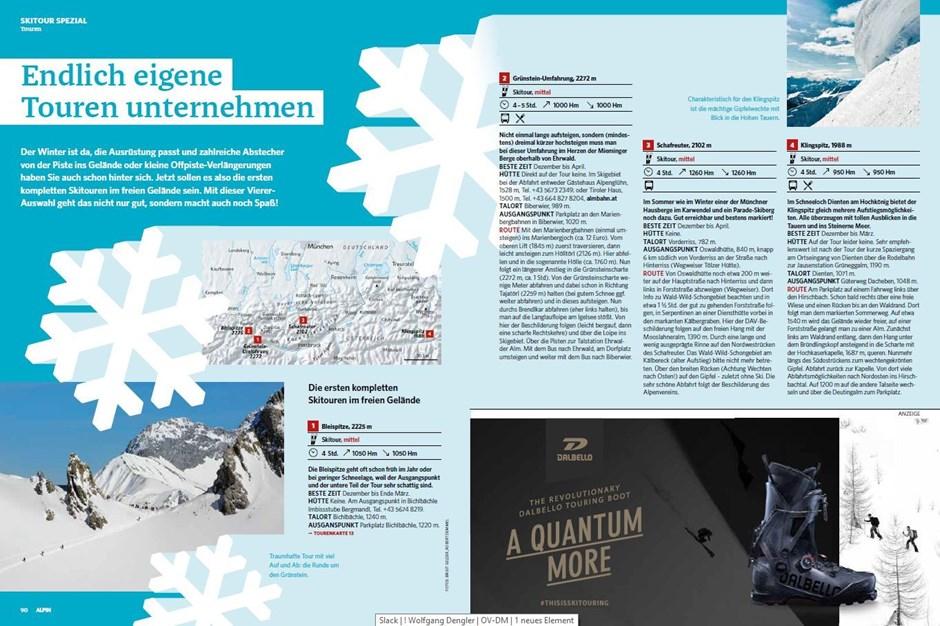 Skitouren-Spezial: Genussskitouren – erste größere Ausflüge ins Gelände