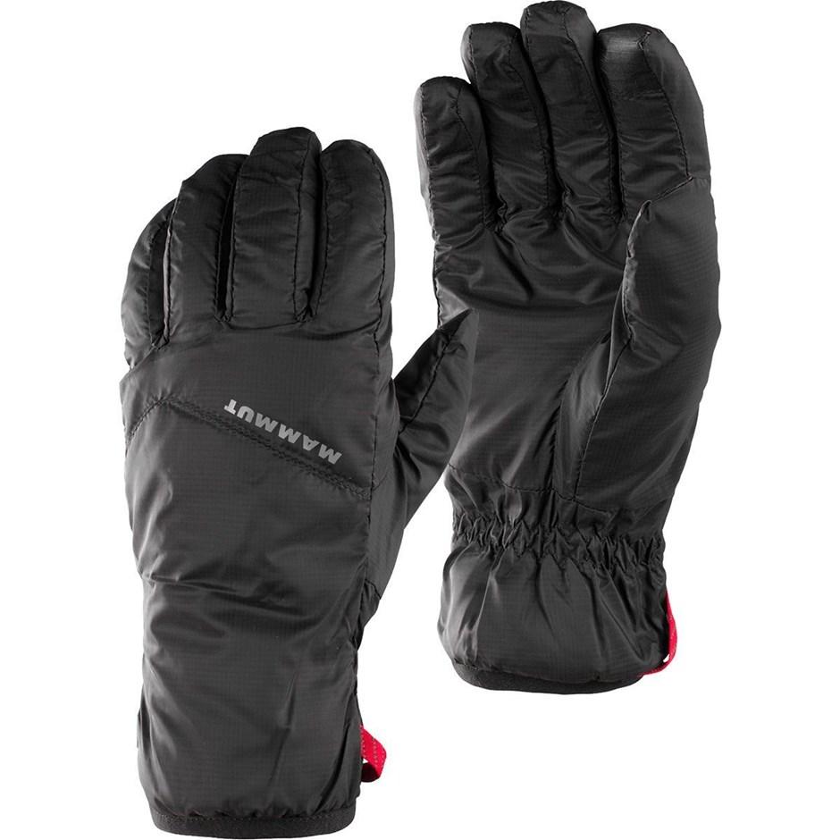 """Ein paar Ersatzhandschuhe sind ebenfalls Pflicht auf jeder Tour. Der <strong>""""Thermo Glove""""</strong> von <strong>Mammut</strong> ist leicht, warm, wasserabweisend undsensorbildschirmtauglich."""
