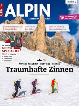 ALPIN 2/2021 ist ab dem 09. Januar im Zeitschriftenhandel erhältlich.