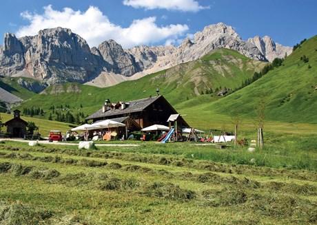 Trentino: 15 ausgewählte Dolomiten-Hütten