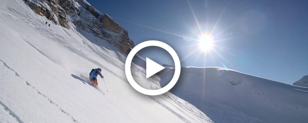 Video: Freeriden in den Dolomiten