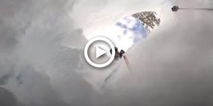 Video: Tourengeher stürzt am Mont Blanc in Gletscherspalte