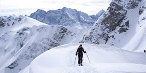 Skitouren im Karwendel und Ötztaler Urweg: Die GPS-Tracks der März-Ausgabe