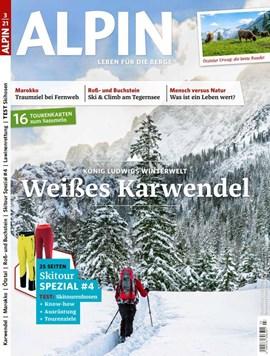 ALPIN 3/2021 ist seit dem 13. Februar im Zeitschriftenhandel erhältlich.