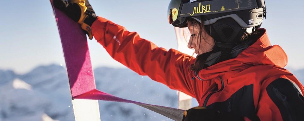 Skitouren-Ausrüstung: Das gibt es bei Tourenfellen zu beachten