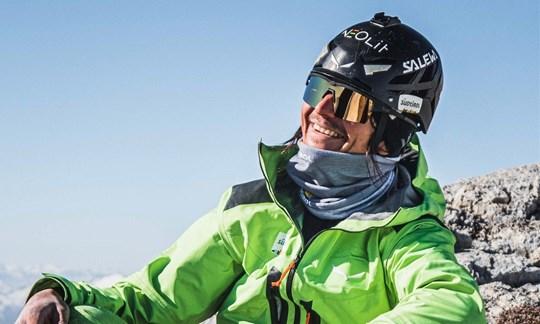 Simon Gietl: Winter-Erstbegehung am Heiligkreuzkofel