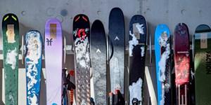 Lagerung, Ski, Stehend, Liegend, lagern, Aufbewahren