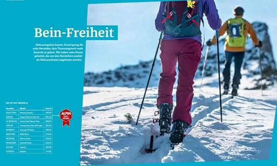 Test: Das sind die besten Skitourenhosen