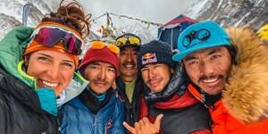 Die Südtiroler Alpinistin Tamara Lunger spricht über ihre K2-Winterexpedition.