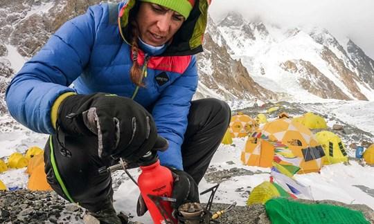 Im K2-Basislager