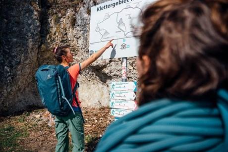 DAV: Acht Regeln für naturverträgliches Klettern