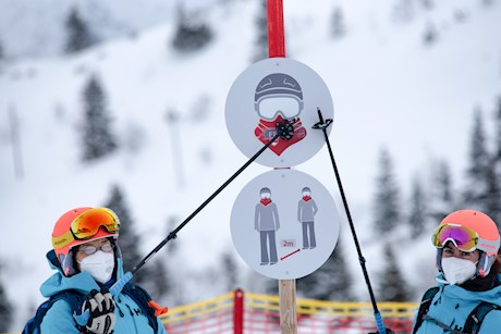 Impressionen vom ALPIN-Skitest 2021/22