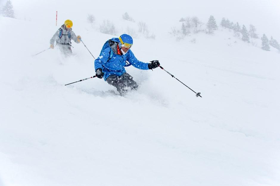 Auch wenn das Wetter nicht an allen Tagen eitelsonnenschein war - der Schnee war dafür umso besser.