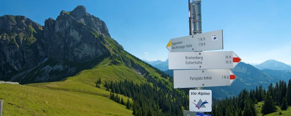 Geopfad vom Breitenberg zum Aggenstein