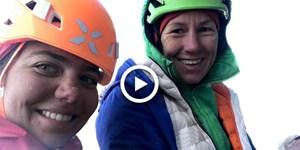 Video: Bike&Climb mit Ines Papert und Caro North
