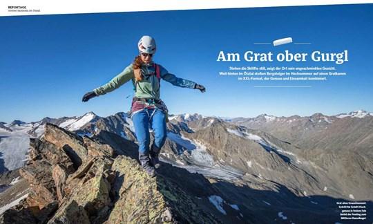 Ramolkamm in den Ötztaler Alpen