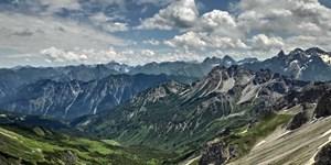 Bergtour im Kleinwalsertal: Über die Kuhgehrenspitze zur Kanzelwand