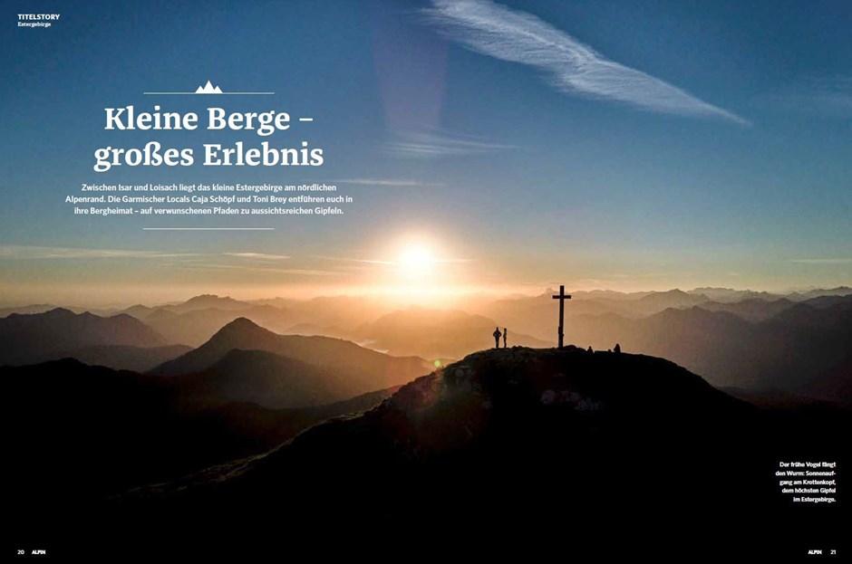 Titelstory: Touren im Estergebirge