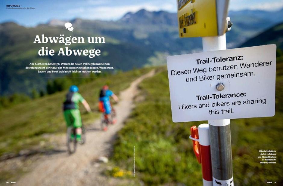 Reportage: Recht auf freie Berge?