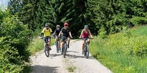 Beliebte Runde: MTB-Tour zur Gund- und Dinserhütte