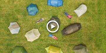 Video: Drei-Personen-Zelte im Test