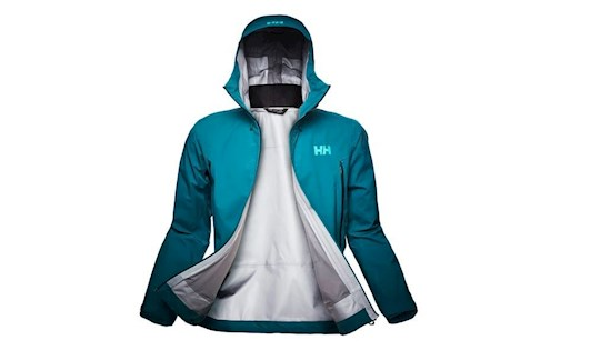 Eines der neuen Kollektions-Highlights: dasVerglas Infinity Shell Jacket.