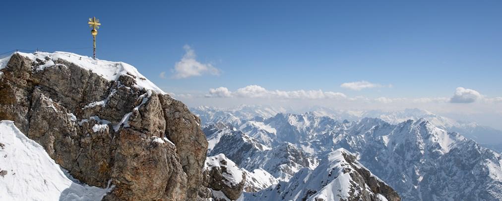 Höchster Berg in Deutschland: Die Zugspitze