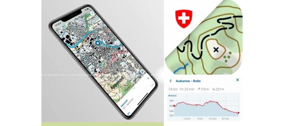 Swisstopo App