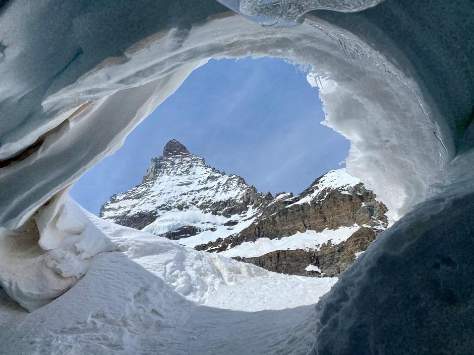 Das Matterhorn im Auge