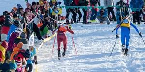 Skibergsteigen oder Skimo (Skimountaineering) wird zur olympischen Disziplin.