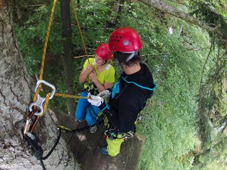Bergsportwoche am Wilden Kaiser 2015