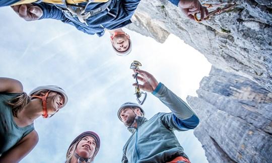 Ortovox Safety Academy Kletterkurse