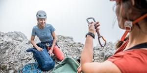 Kletterkurse mit der Ortovox Safety Academy