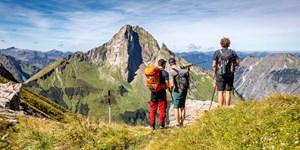Wanderung auf die Jochspitze in den Allgäuer Alpen