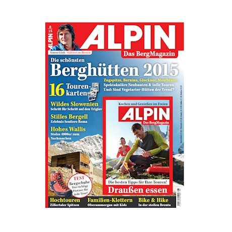 August 2015: Moderne Hütten