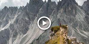 """Video: Unterwegs auf """"wilden Wegen"""" in den Dolomiten"""