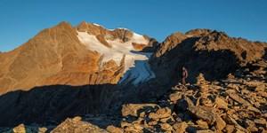 Bergtour auf das Wilde Mannle in den Ötztaler Alpen