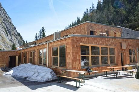 Spektakuläre Hütten