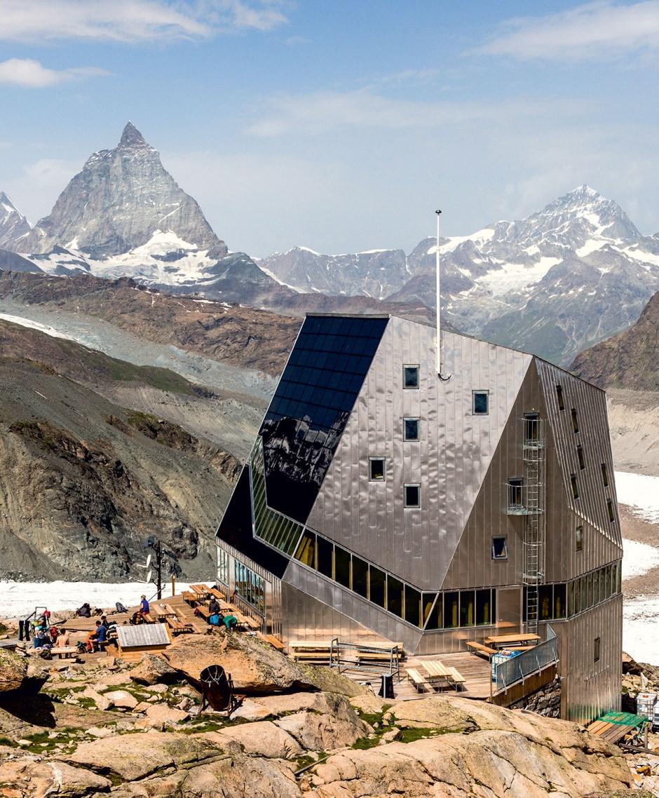Monte-Rosa-Hütte, 2883 m, SAC