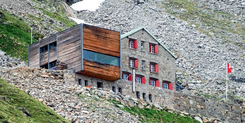 Tschierva-Hütte, 2584 m, SAC