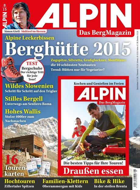 ALPIN 08/2015: Moderne Hütten