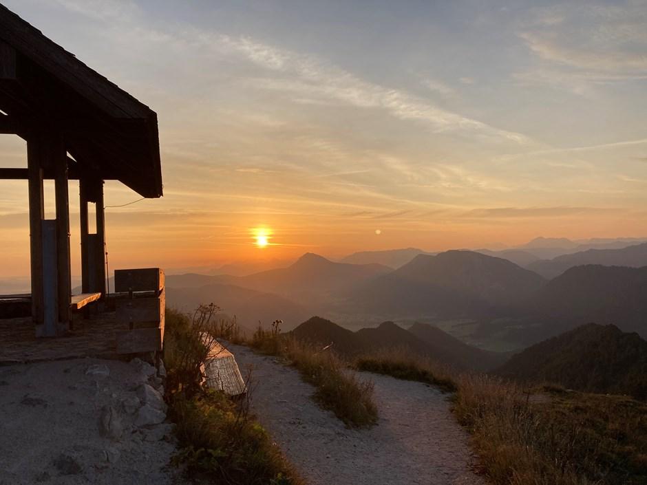 Sonnenaufgang Hochfelln