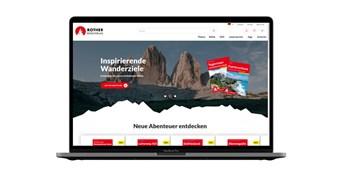 Rother Bergverlag mit neuem Internetauftritt
