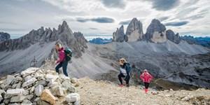 Wanderung auf den Sextener Stein in den Dolomiten